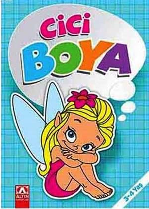 Cici Boyama-Mavi