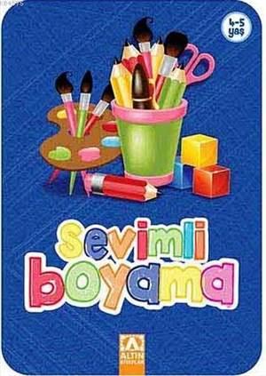 Sevimli Boyama-Lacivert