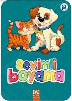 Sevimli Boyama-Turkuaz