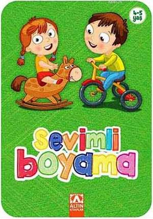 Sevimli Boyama-Yeşil