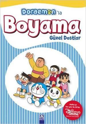 Doraemon'la Boyama - Güzel Dostlar