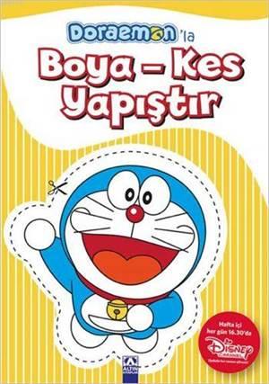Doraemon'la Boya - Kes - Yapıştır