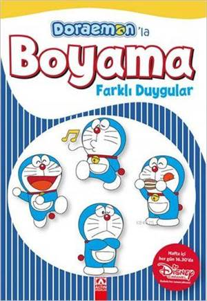 Doraemon'la Boyama - Farklı Duygular