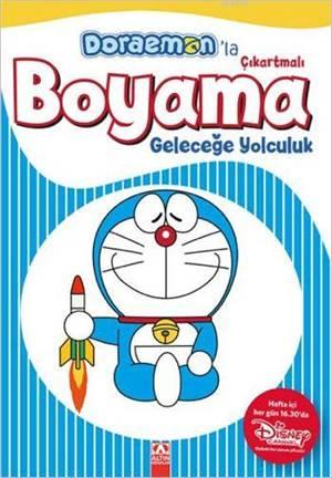 Doraemon'la Çıkartmalı Boyama - Geleceğe Yolculuk