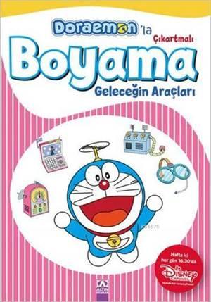 Doraemon'la Çıkartmalı Boyama - Geleceğin Araçları