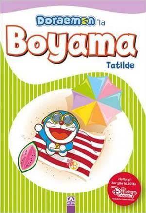 Doraemon'la Boyama - Tatilde