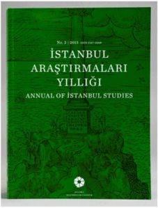 İstanbul Araştırmaları Yıllığı 2013