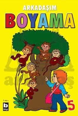 Arkadaşım Boyama 5