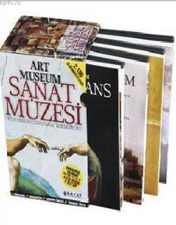 Art Museum Sanat Müzesi Seti (4 Kitap Takım + 4 CD ROM); Dünyanın En Geniş Sanat Koleksiyonu