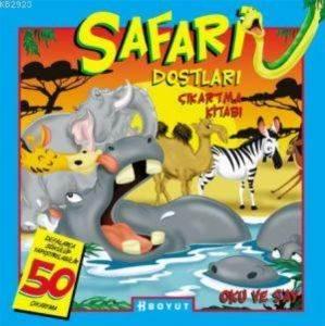 Safari Dostları Cıkartma Kıtabı
