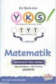 Editör YKS 1.Oturum TYT Matematik Öğretmenin Ders Notları