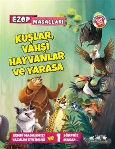 Kuşlar, Vahşi Hayvanlar Ve Yarasa - Ezop Masalları