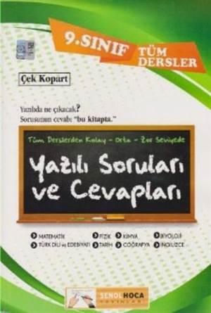 9. Sınıf Tüm Dersler Yazılı Soruları Ve Cevapları
