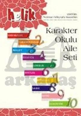 Helik Karakter Okulu Aile Kitabı 1-10 Set