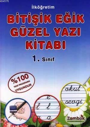 Bitişik Eğik Güzel Yazı Kitabı 1