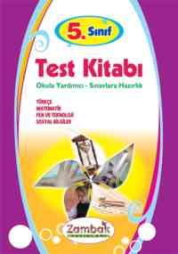 5. Sınıf Test Kitabı