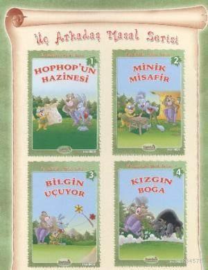 Üç Arkadaş Masal Serisi Küçük Boy 4 Kitap