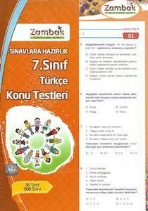 7.Sınıf Türkçe Konu Testleri