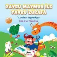 Yavru Maymun ile Yavru Zürafa Kuralları Öğreniyor