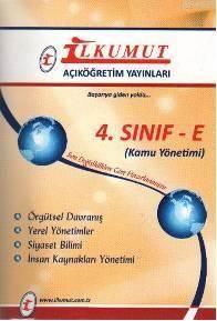 4. Sınıf -E Kamu Yönetimi