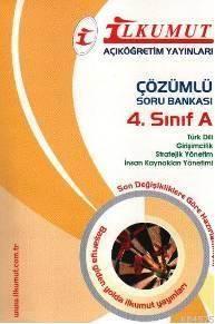 4. Sınıf -A Çözümlü Soru Bankası
