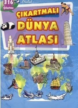 Çıkartmalı Dünya Atlası