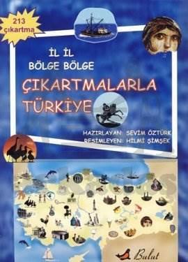 İl İl Bölge Bölge Çıkartmalarla Türkiye