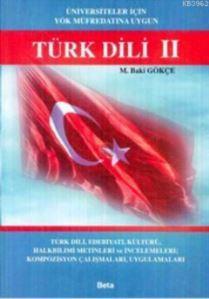 Türk Dili 2 (Üniversiteler İçin YÖK Müfredatına Uygun)