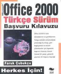 Office 2000 Türkçe Sürüm Başvuru Kılavuzu