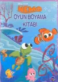 Kayıp Balık Nemo Oyun Boyama Kitabı
