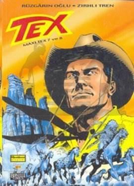 Tex - Maxi Tex 7 ve 8 Rüzgarın Oğlu - Zırhlı Tren