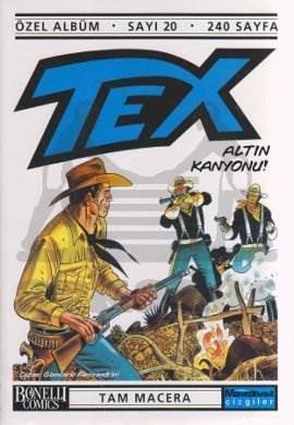 Tex Özel Albüm Sayı: 20 Altın Kanyonu