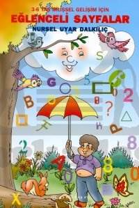 Eğlenceli Sayfalar 3-6 Yaş Bilişsel Gelişim İçin