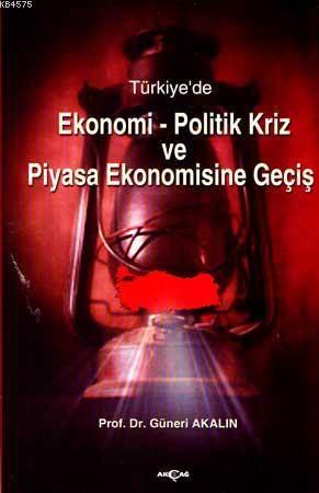 Türkiye'de| Ekonomi-Politik Kriz Ve Piyasa Ekonomisine Geçiş