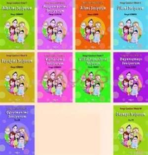 10 Kitap Sevgi Çemberi Dizisi