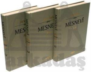 Mesnevi (6 Cilt - 3 Kitap Takım)