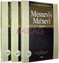 Mesnevî-İ Manevî (3 Cilt - Farsça)
