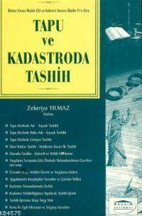Tapu ve Kadastroda Tashih (düzeltme)