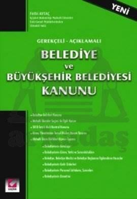 Belediye ve Büyükşehir Belediyesi Kanunu