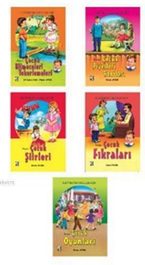 Eğlenerek Öğreniyorum Serisi (5 Kitap Takım); 3-4-5. Sınıflar İçin