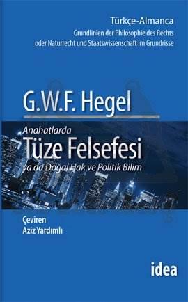 Tüze Felsefesi - Hegel