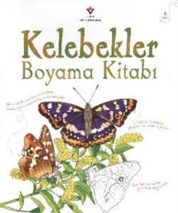 Kelebekler Boyama Kitabı