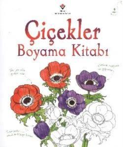 Çiçekler Boyama Kitabı