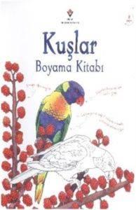 Kuşlar Boyama Kitabı
