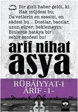 Rübâiyyat-ı Ârif -I-