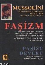Fasizm-fasist Devlet