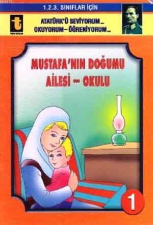 Mustafa'nın Doğumu-Ailesi-Okulu (Eğik El Yazısı); 1. 2. 3. Sınıflar İçin