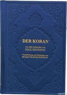 Der Koran, ( Almanca  K.K.  Ve Meali  ) B.Boy Ciltli Metinsiz
