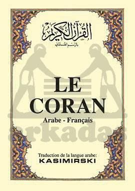Le Coran, ( Arapça – Fransizca K.K. Ve Meali )  Cep  Boy