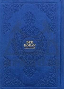 Der Koran,  (Arapça - Almanca  K.K.  Ve Meali  ) Hafiz Boy